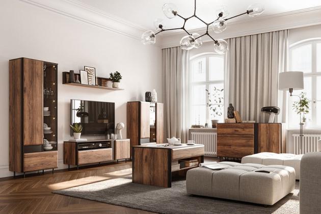 BORGA elegantná zostava do obývacej izby