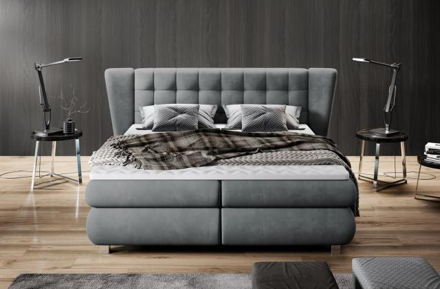 WRS, LARONA kontinentálna boxspring posteľ 180x200 cm