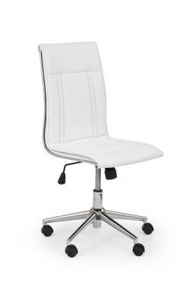 PORTO moderná kancelárska stolička, biela, čierna