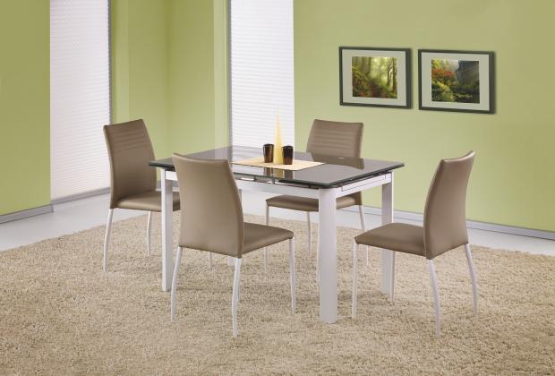Alston rozkladací jedálenský stôl 120-180 cm, béžový