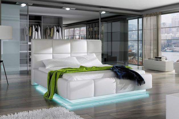 WRS, JUSTINA čalúnená posteľ, 160x200 cm