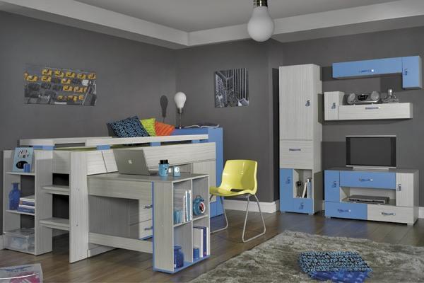 MBR, DOMI Dětský pokoj - možnost vytvoření vlastní sestavy nábytku